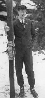 Hans Vinjarengen Norwegian nordic combined skier