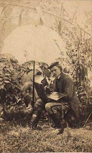 Pietro Boyesen - Image: Harald Jerichau 1869 af Pietro Boyesen