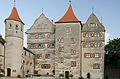 Harburg in Schwaben, Burg Harburg, Fürstenbau, 003.jpg