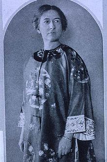 Poet Harriet Monroe