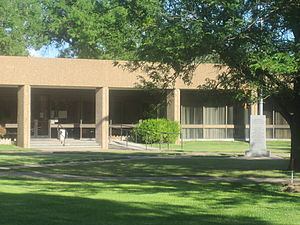 Haskell County Court House in Sublette