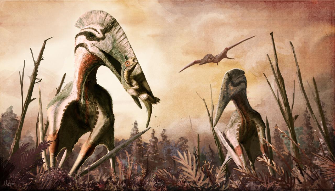 Az óriás Pterosaur Hatzegopteryx volt a legnagyobb állat, amely valaha repült