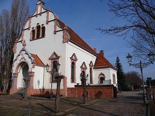 Haupteingang Friedhof Schwetzingen