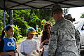Hawaii National Guardsmen pass out candy to trick or treaters, patrol neighborhoods as lava flow continues 141031-Z-ZO853-063.jpg