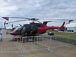 Hawker Pacific (VH-YGX) Bell 407GX on display at the 2015 Australian International Airshow.jpg