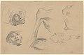 "Head, Shoulder, and Foot, studies for ""Scenes from the Chios Massacres"" MET DP836022.jpg"