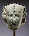 Head of a sphinx, possibly of Amenemhat I MET 66.99.4 EGDP017910.jpg