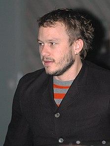 Heath Ledger Australian actor