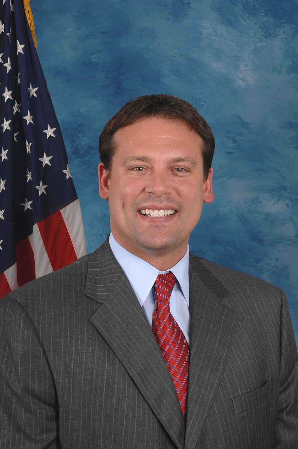 Heath Shuler, official 110th Congressional photo portrait