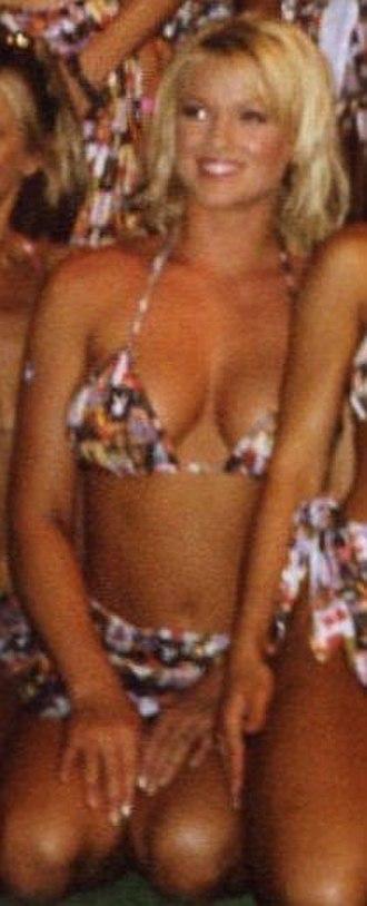 Heather Kozar - Heather Kozar at the 2000 Playboy Wet and Wild Bikini Fashion Show.