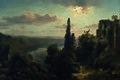 Heinrich Louis Theodor Gurlitt - Ansicht des Nemisees im Albanergebirge bei Rom - 3045 - Kunsthistorisches Museum.jpg