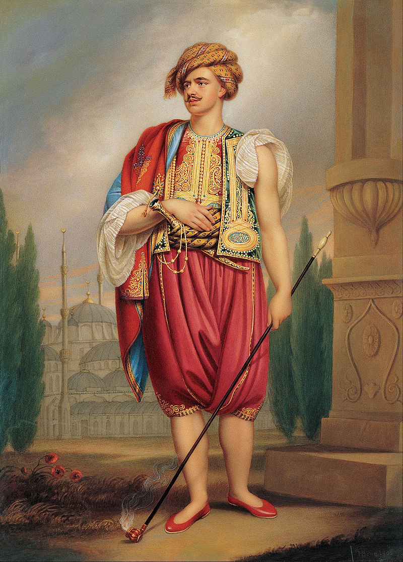 Henry Bone - A Portrait of Thomas Hope in Turkish Costume - Google Art Project.jpg