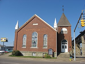 Henry Logan Memorial AME Church - Front of the church
