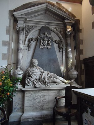Henry Paget, 1st Earl of Uxbridge (first creation) - Monument to Lord Henry Pagett in St John the Baptist's Church, Hillingdon