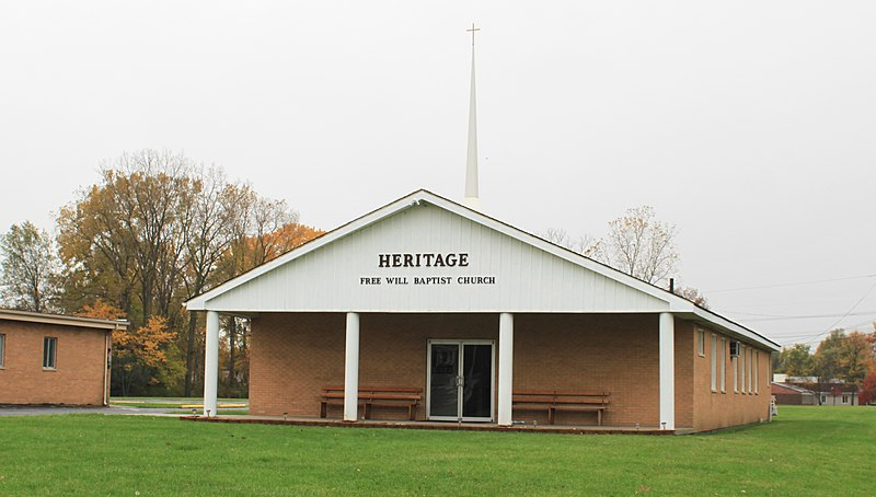 File:Heritage Free Will Baptist Church, 12670 Pardee Road, Taylor, Michigan - panoramio.jpg