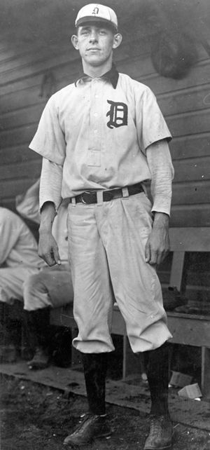 Herm Malloy - Herman Malloy, Detroit Tigers pitcher