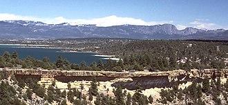 San Juan-Chama Project - Image: Heron Lake NM