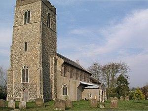 Heveningham - Image: Heveningham Church of St Margaret