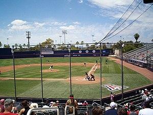 Hi Corbett Field - Image: Hi Corbett UA Baseball 052415 02