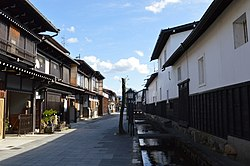 View of Hida old town