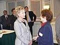 Hillary with Edna Mitchell (1583615992).jpg