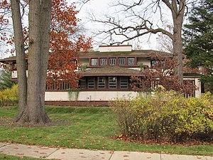 Kenilworth, Illinois - Hiram Baldwin House