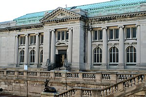 Hispanic Society of America - Hispanic Society museum building on Audubon Terrace