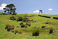 Décor du film Le Seigneur des anneaux, en Nouvelle-Zélande.