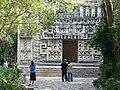 Hochob Campeche - Rekonstruktion des Tempels.jpg