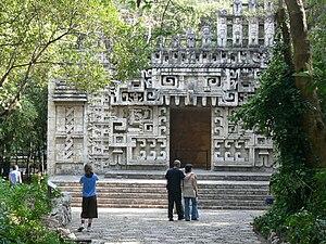Hochob Campeche - Rekonstruktion des Tempels
