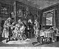 Hogarth, Marriage a la mode; suicide of the countess Wellcome L0005338.jpg