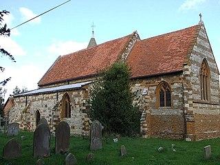 Hoggeston village in the United Kingdom