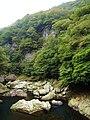 Hokigawa Dam gorge.jpg