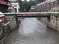 Holy Bagmati river (and the bridge) on the bank of Pashupatinath temple - panoramio.jpg