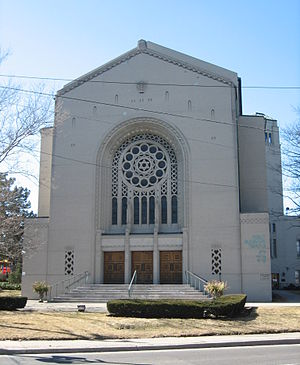 Holy Blossom Temple - The current home of Toronto Hebrew Congregation - Holy Blossom Temple