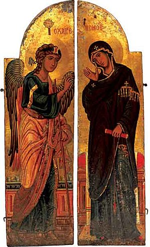 Annunciation (The Holy_Doors) from Saint Cathe...
