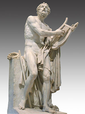 Life of Homer (Pseudo-Herodotus) - Homer, 1812, by Philippe-Laurent Roland