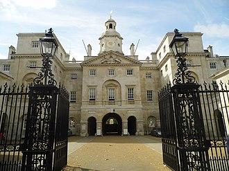 The Secret Service - Image: Horse Guards Parade Entrance