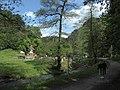 Hostinec Dívčí skok - údolí Divoké Šárky - panoramio.jpg