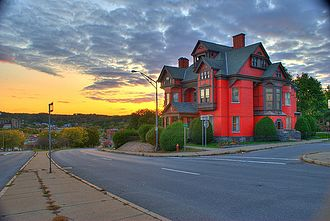 Montgomery County, New York - Image: House in Amsterdam, NY