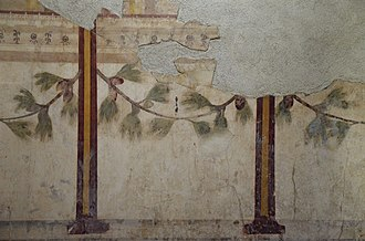 House of Augustus - Room of the Pine Festoon, House of Augustus, Palatine Hill, Rome