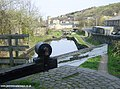 Huddersfield Canal at Milnsbridge - geograph.org.uk - 2214.jpg