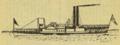 "Hudson River Steamboat ""De Witt Clinton"", as Rebuilt, 1832. Showing ""Hog Frame"" construction, supporting boilers.png"