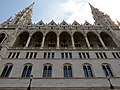 Hungarian Parliament, Danube side detail, 2013 Budapest (395) (13227722174).jpg