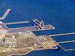 Hunters Point shipyard crane aerial view, February 2018.JPG