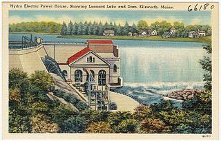Ellsworth Power House and Dam