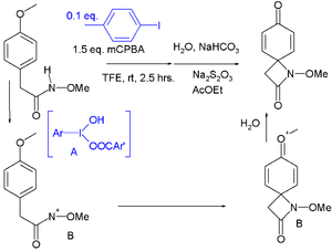 Iodane - hypervalent iodine(III)-catalyzed C–N bond forming reaction