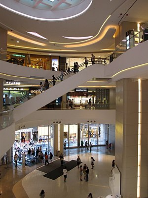 Hysan Place - Hysan Place atrium