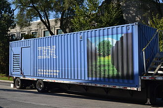 Modular data center - A 40-foot Portable Modular Data Center.