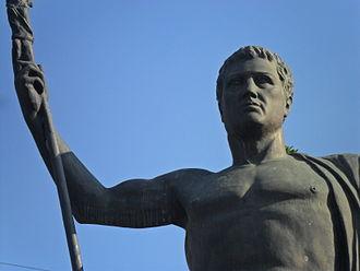 Attalus II Philadelphus - Image: II. Attalos Heykeli detay